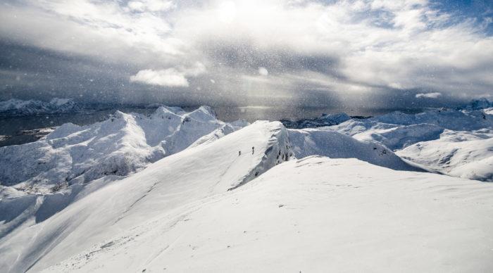 Bild från toppen