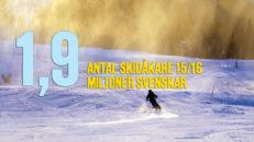 För Sverige på skidor