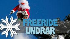 Freeride undrar: Åker du skidor i jul?