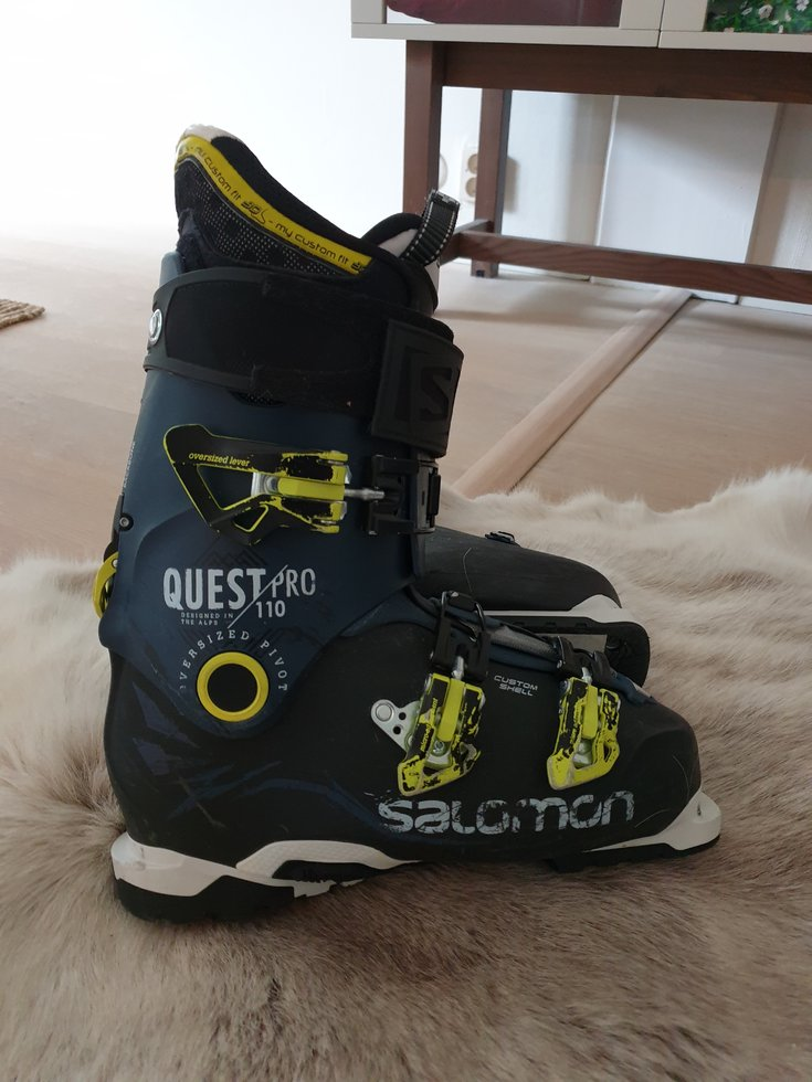 Säljes: Salomon Quest Pro 110 Strl 27,0 27,5 Freeride