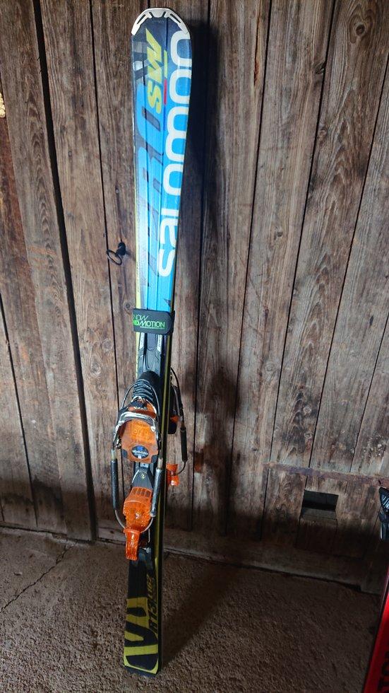 Säljes: Salomon xpro sw m telemark o alpin bindning Freeride