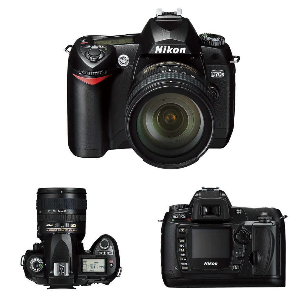 prylar kameror ... D70 Nikon