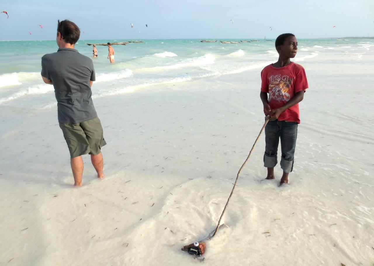 kistbord vitt ~ kokande kiteboarding på paje  freeride