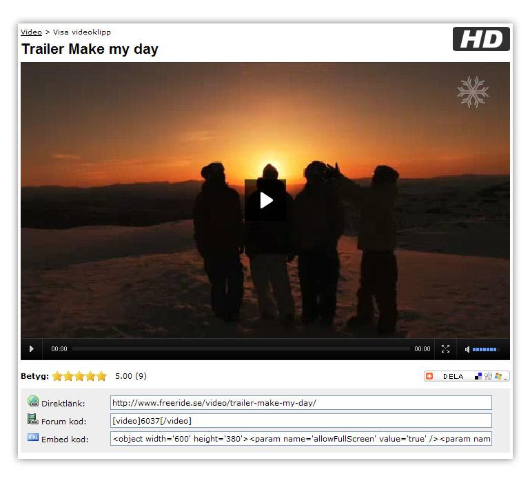 Jävla HD vedio
